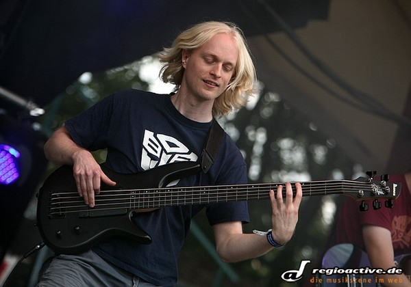 Jenseits des Kanals - Fotos: Haken live beim 6. Night Of The Prog Festival auf der Loreley